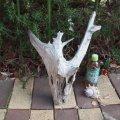 アートな流木(小)「白炭」