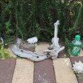 アートな流木(小)「坪庭」
